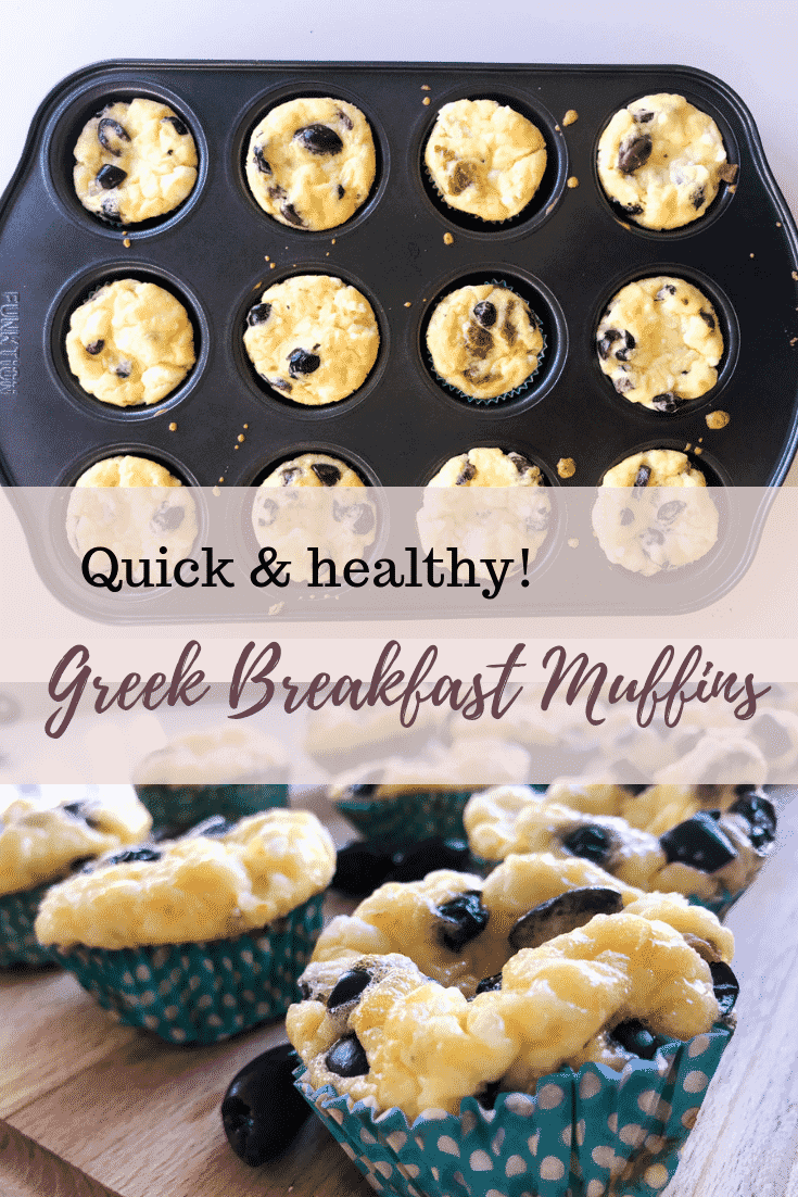 Greek Breakfast Egg Muffins are a healthy, quick & delicious way to start your day, and serves most special diets as they're vegetarian, keto and gluten-free. #alwaysusebutter #breakfastmuffins #eggmuffins #breakfastideas #quickbreakfast #easyrecipes #quickrecipes #vegetarian #keto